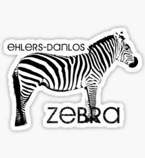 Ehlers Danlos Zebra Sticker