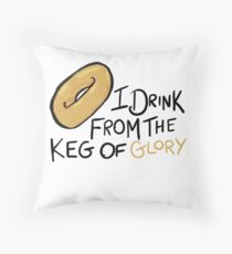 West Wing Keg of Glory Throw Pillow
