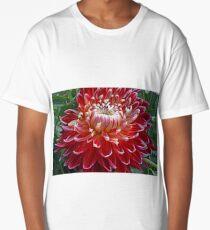 Dahlia Macro Long T-Shirt