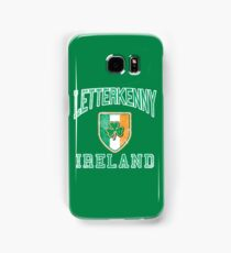 Letterkenny, Ireland with Shamrock Samsung Galaxy Case/Skin