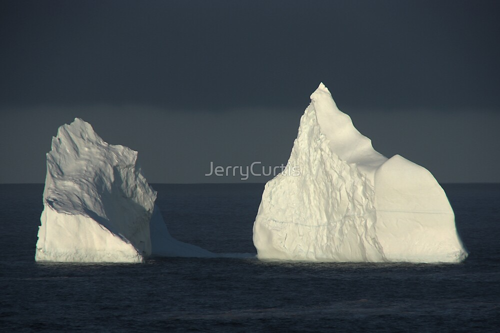 Pouch Cove Iceberg 2008 - 1 by JerryCurtis