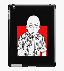 one punch man merchandise logo iPad Case/Skin