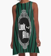 Look Alive - Green  A-Line Dress
