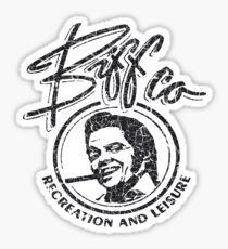 Biff Co. Recreation and Leisure (BTTF 2) Sticker