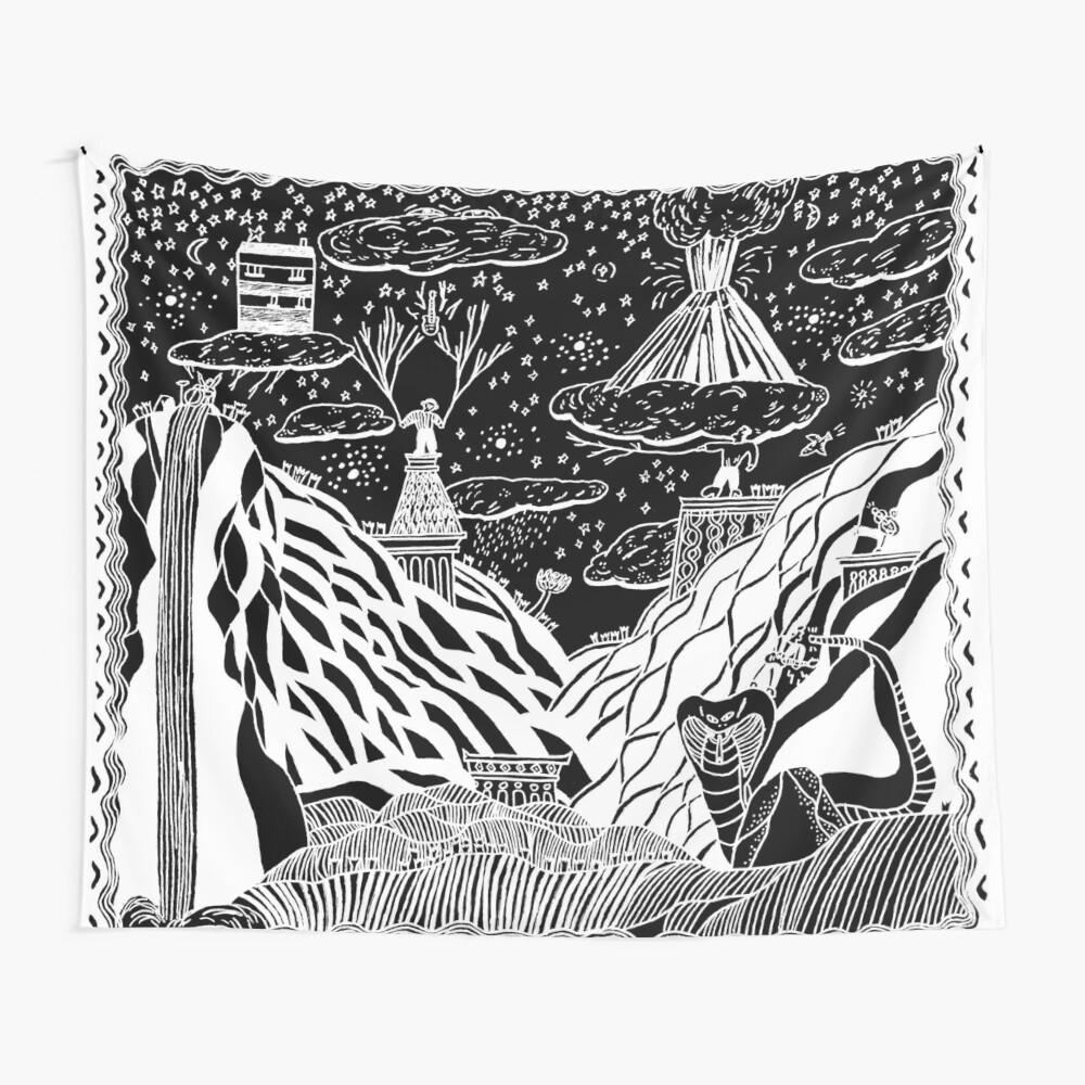 Peripheral Tapestries Turnover Peripheral Vision Wall Tapestries Turnover