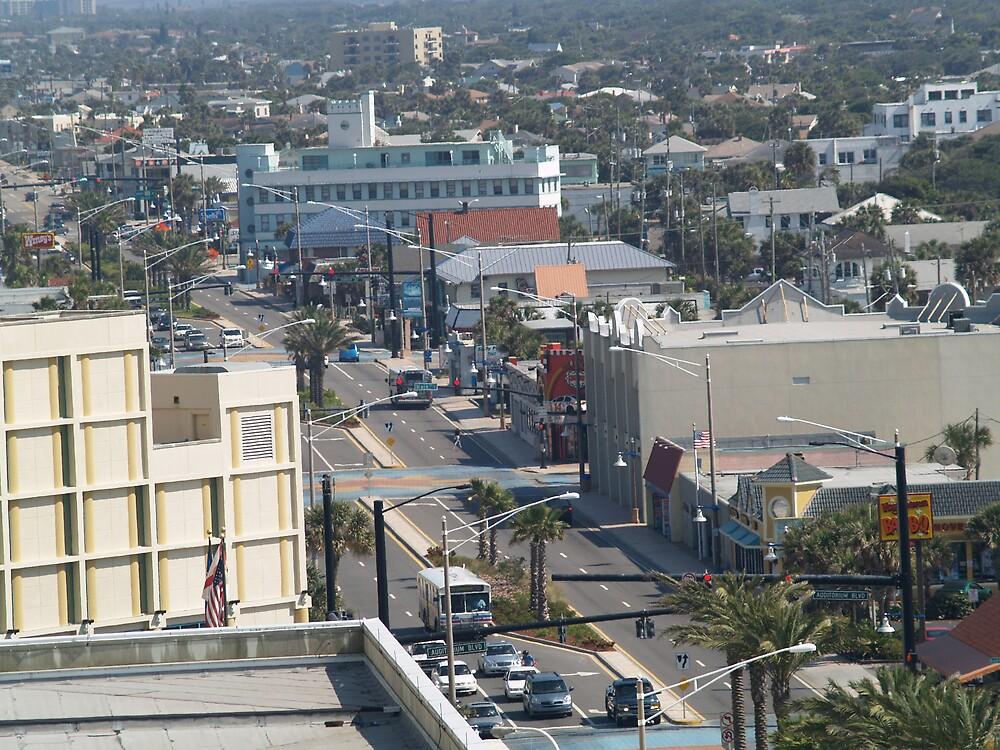 Atlantic Ave. Daytona Beach FLA by Cyril Munro