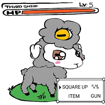 3rd Sh33p Pokemon by 3RDSH33P