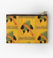 WPA United States Government Work Project Administration Poster 0965 Languages Studio Pouch