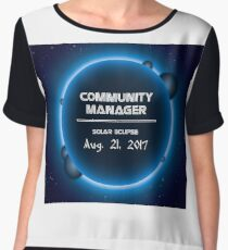 COMMUNITY MANAGER Chiffon Top