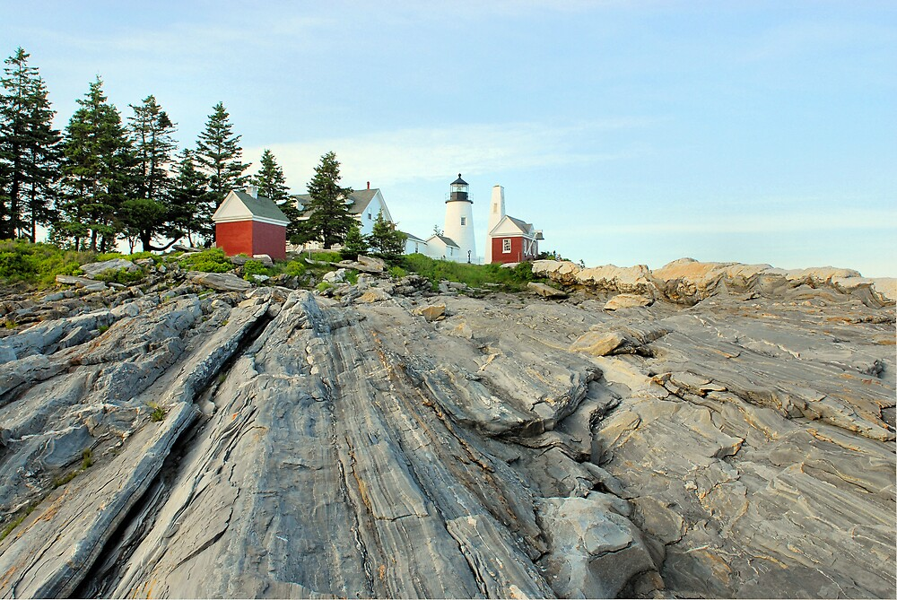 Pemaquid Lighthouse - New Harbor, ME by Howard Simpson