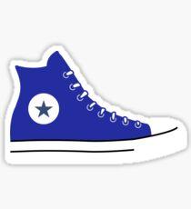 CONVERSE HIGH TOPS | BLUE Sticker