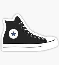 CONVERSE HIGH TOPS | BLACK Sticker