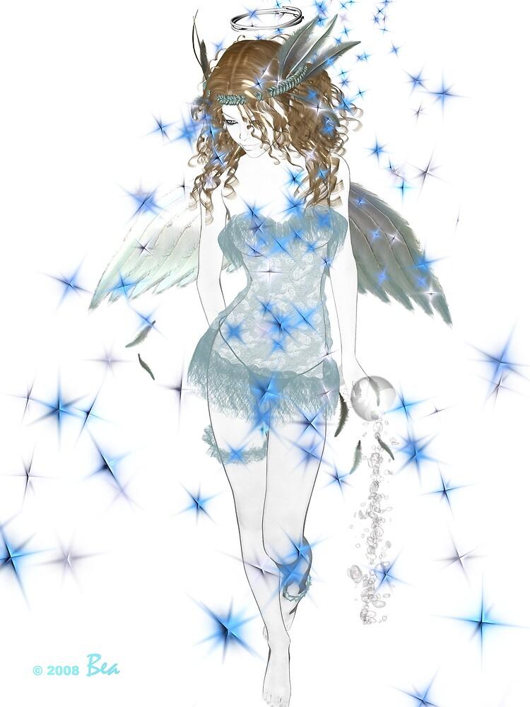 A Slightly Fallen Angel by BMcKeown