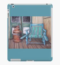 Squatter's Chair and Cream Can iPad Case/Skin