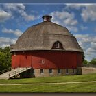 The Ryan Round Barn by Sheryl Gerhard