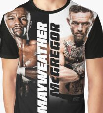 McGregor VS Mayweather The Money Fight Graphic T-Shirt
