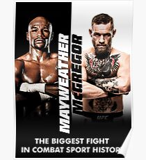 McGregor VS Mayweather The Money Fight Poster