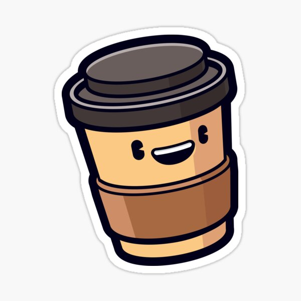 Coffee time! Sticker