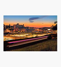 Sheffield at night Photographic Print