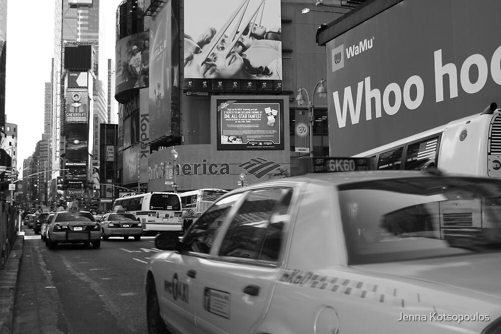cab traffic  by Jenna Kotsopoulos