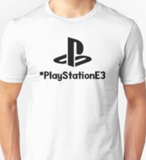 PlayStationE3 Plus/#PlayStationE3 Design #E3 T-Shirt