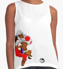 Super Mario Fan Art Contrast Tank