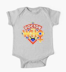 4th Doctor Logo with a Twist (in Color) Kids Clothes