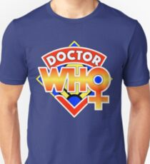 4th Doctor Logo with a Twist (in Color) T-Shirt