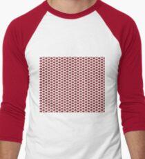 The Strawberry Thieves band logo pattern Men's Baseball ¾ T-Shirt