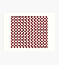 The Strawberry Thieves band logo pattern Art Print