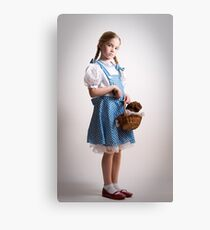 Girl Dressed Up as Dorothy Canvas Print