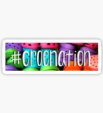 Hashtag Croc Nation Sticker