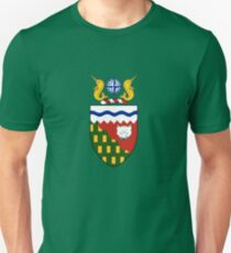 Coat of arms of Northwest Territories, Canada T-Shirt