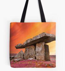 Poulnabrone Pastel Rapture Tote Bag