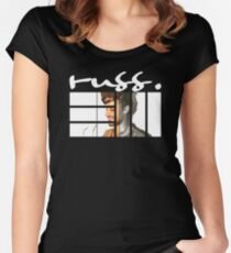 russ Symbol Women's Fitted Scoop T-Shirt