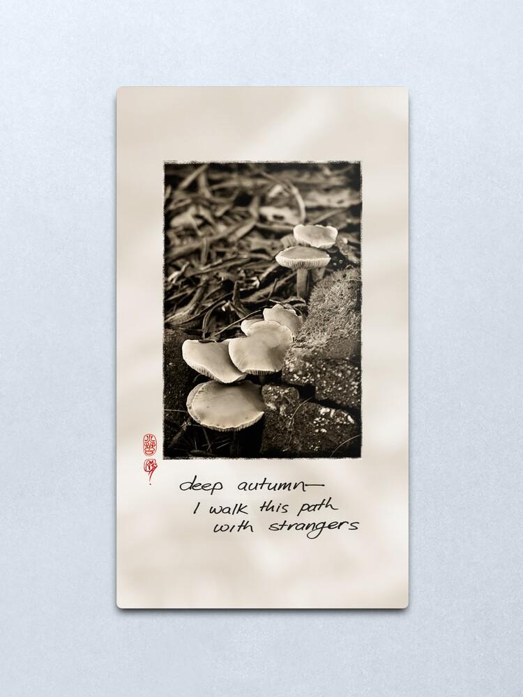 Alternate view of Deep Autumn Metal Print