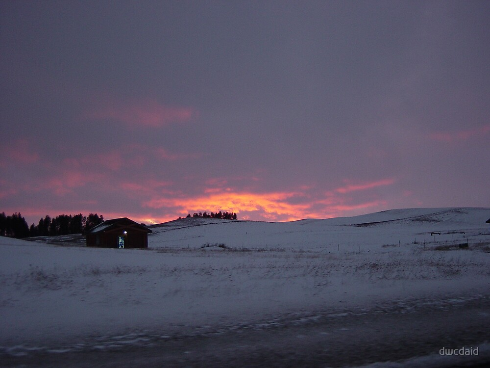 Palouse Winter by dwcdaid