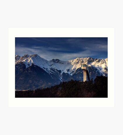 Mountain Architecture Art Print