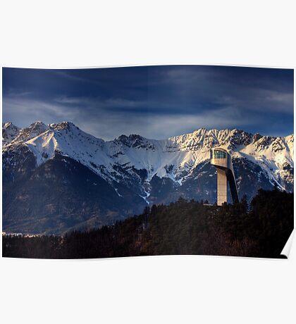 Mountain Architecture Poster