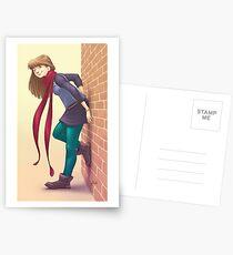 Geeky Character Design Postcards
