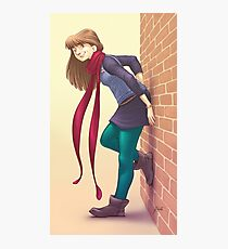 Geeky Character Design Photographic Print