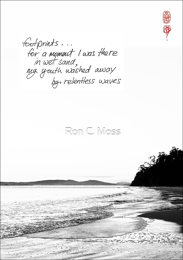 Footprints by Ron C. Moss