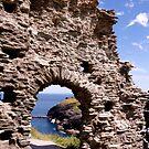 Tintagel Castle Gateway by John Wallace