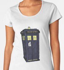 bigger on the inside. Women's Premium T-Shirt