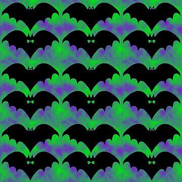 Bats And Bows by blakcirclegirl