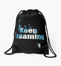 Keep Dreaming Drawstring Bag