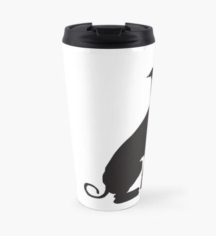 greyhound (vector) Travel Mug