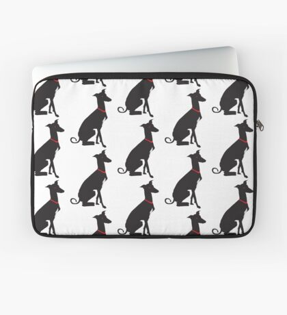 greyhound (vector) Laptop Sleeve