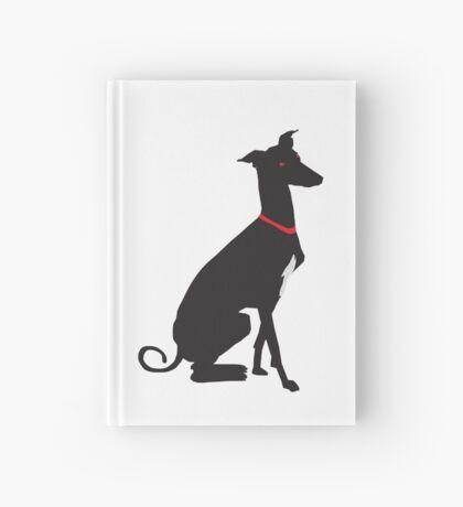 greyhound (vector) Hardcover Journal