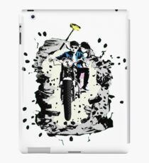 Emmett and Bay street art - Switched at Birth iPad Case/Skin